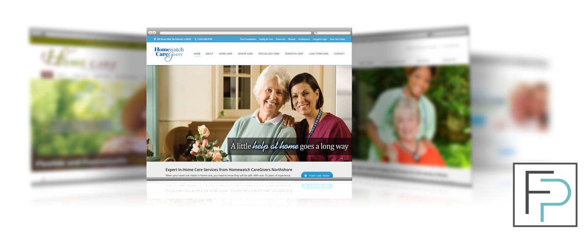 Home Care Agency Website Design